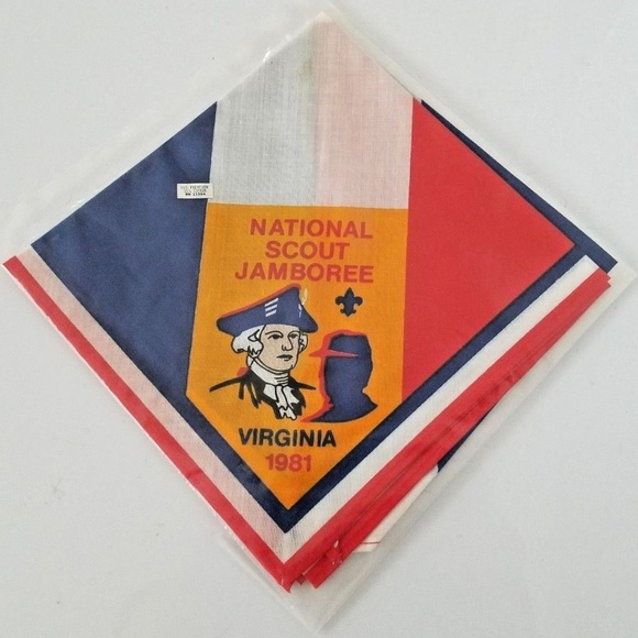 Boy Scouts of America Other - 1981 National Jamboree Neckerchief NWT Boy Scouts